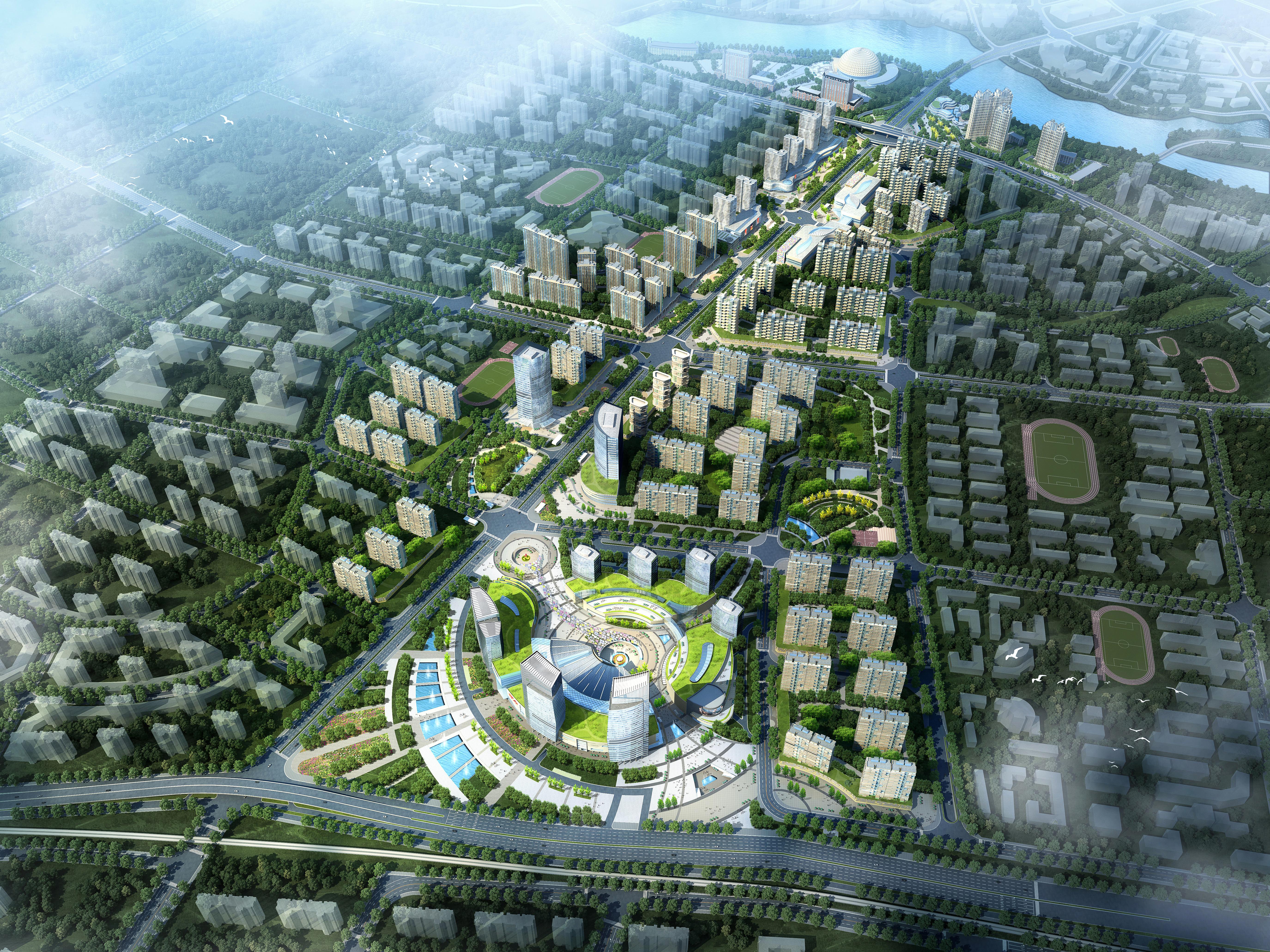 pilsētas plānošana 008 3d modelis max 203776