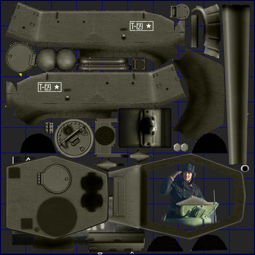 tank t34-85 3d model 3ds max fbx other 203848