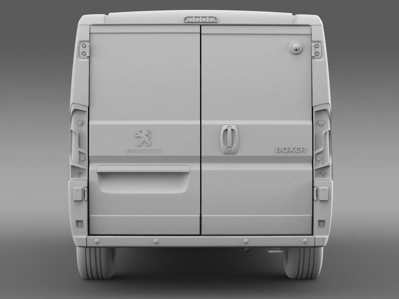 peugeot boxer collection services 2015 3d model 3ds max fbx c4d lwo ma mb hrc xsi obj 203902