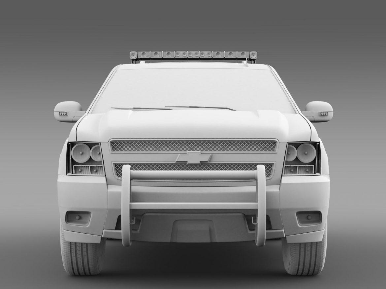 chevrolet suburban z71 police 3d model 3ds max fbx c4d lwo ma mb hrc xsi obj 203920