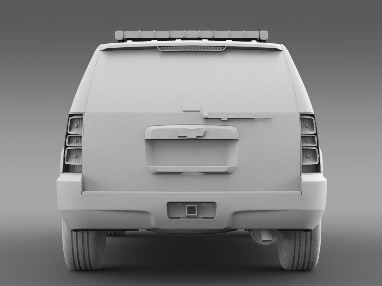 chevrolet suburban z71 police 3d model 3ds max fbx c4d lwo ma mb hrc xsi obj 203921