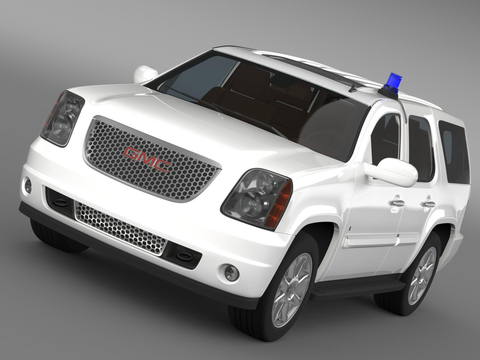 GMC Denali FBI 3d model 3ds max fbx c4d lwo lws lw ma mb  obj 203928