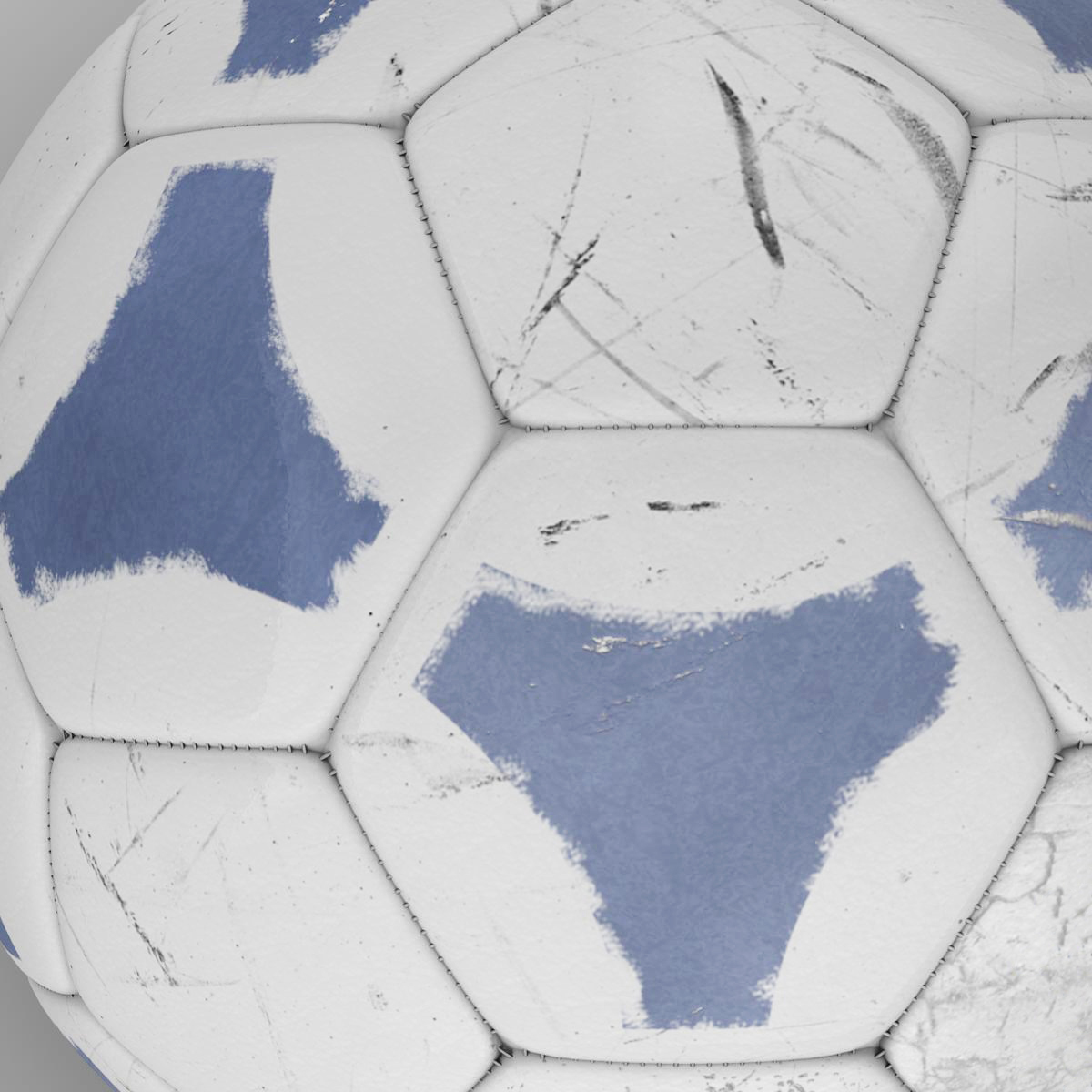soccerball цэнхэр цагаан 3d загвар 3ds max fbx c4d ma mb obj 203984