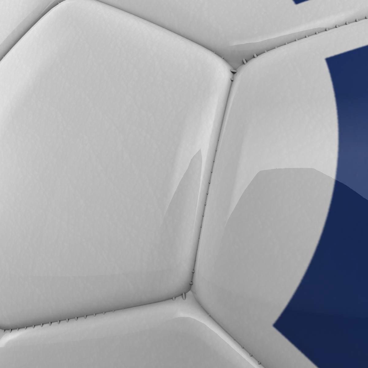 soccerball цэнхэр цагаан 3d загвар 3ds max fbx c4d ma mb obj 203986