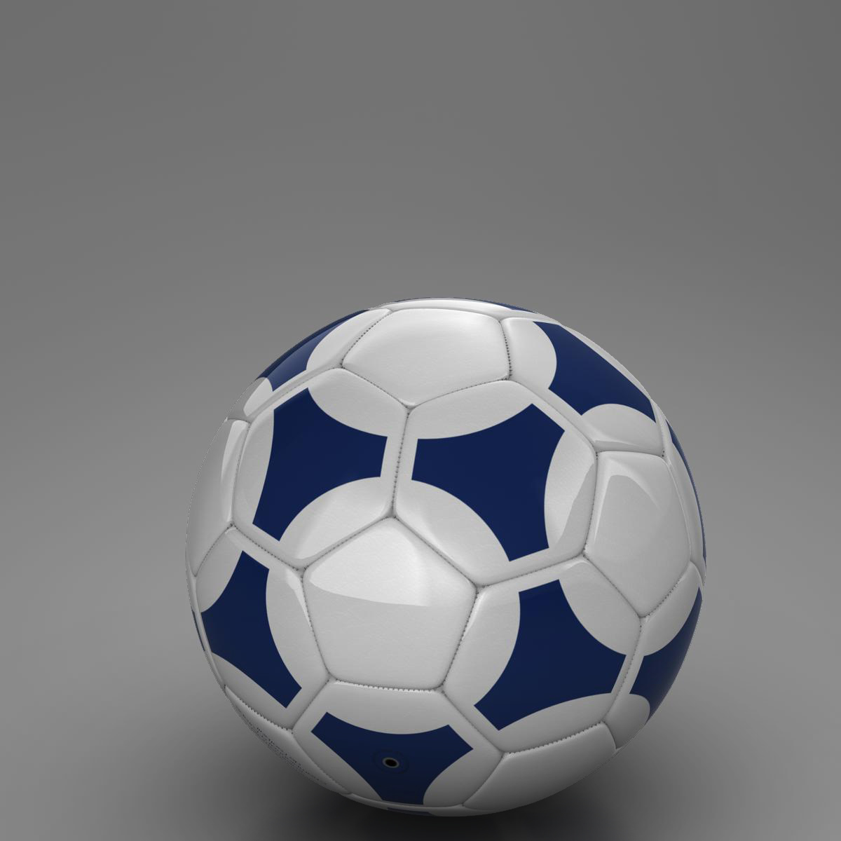 soccerball цэнхэр цагаан 3d загвар 3ds max fbx c4d ma mb obj 203988