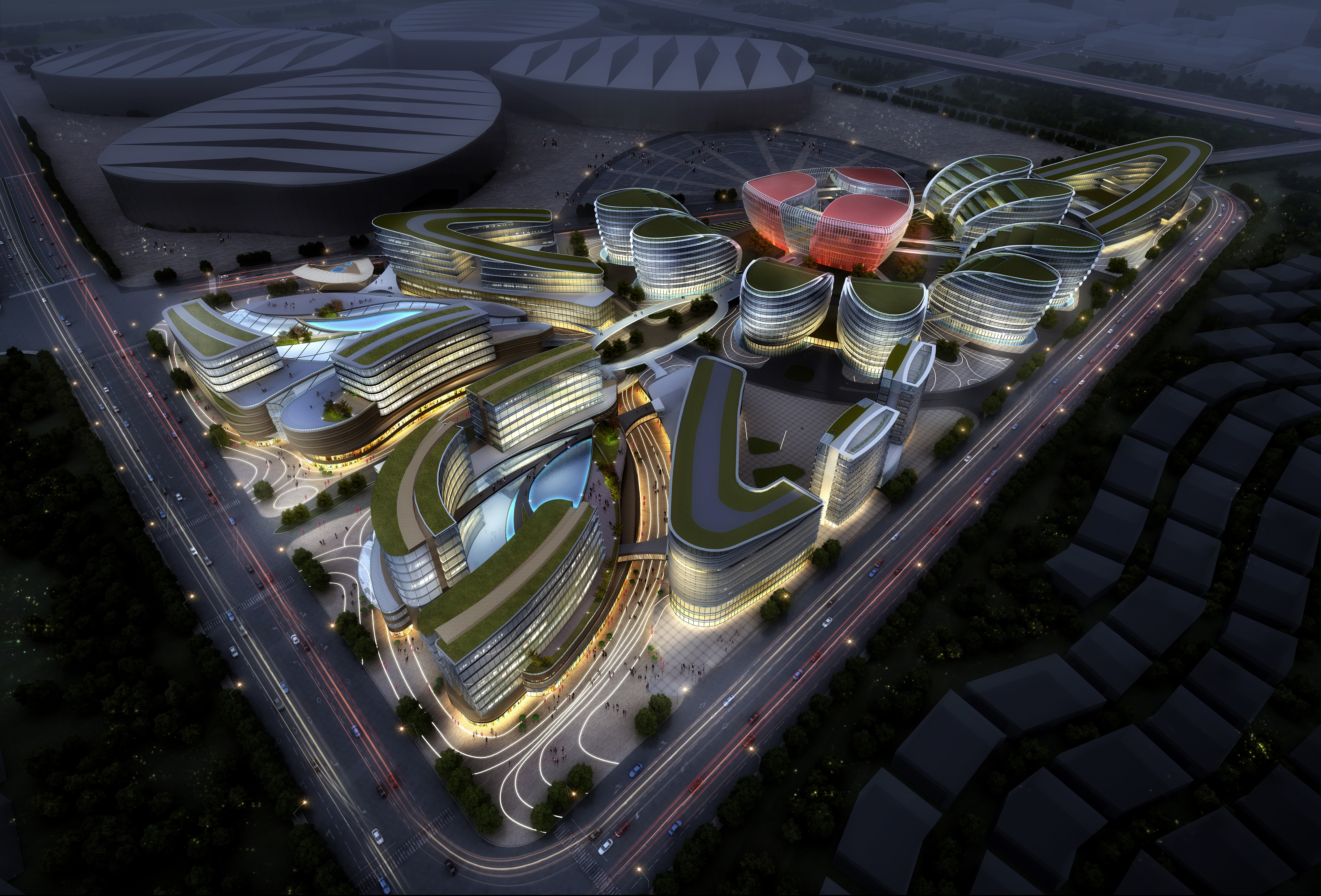 international convention and exhibition 001 3d model max 204022