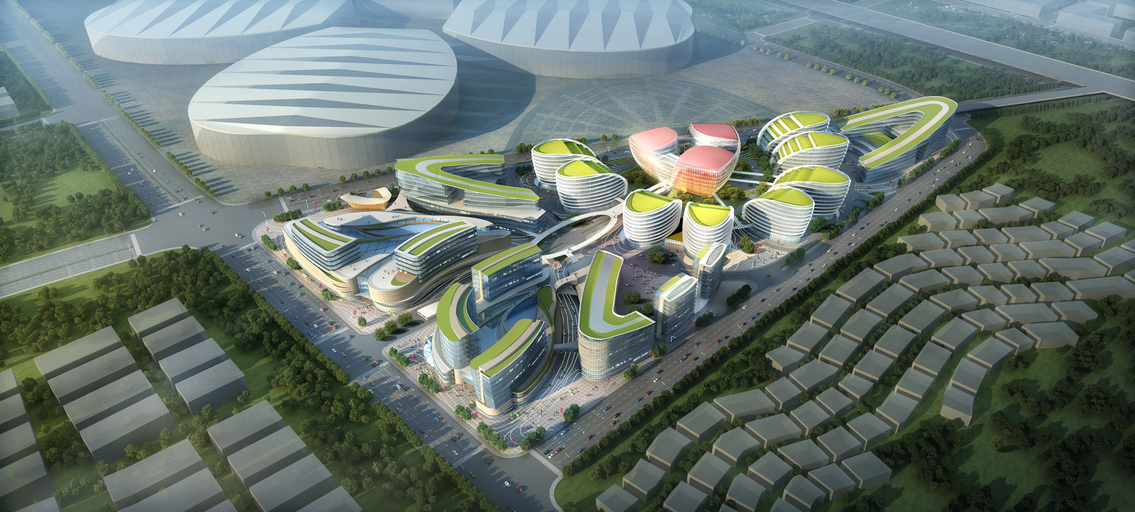 international convention and exhibition 001 3d model max 204025