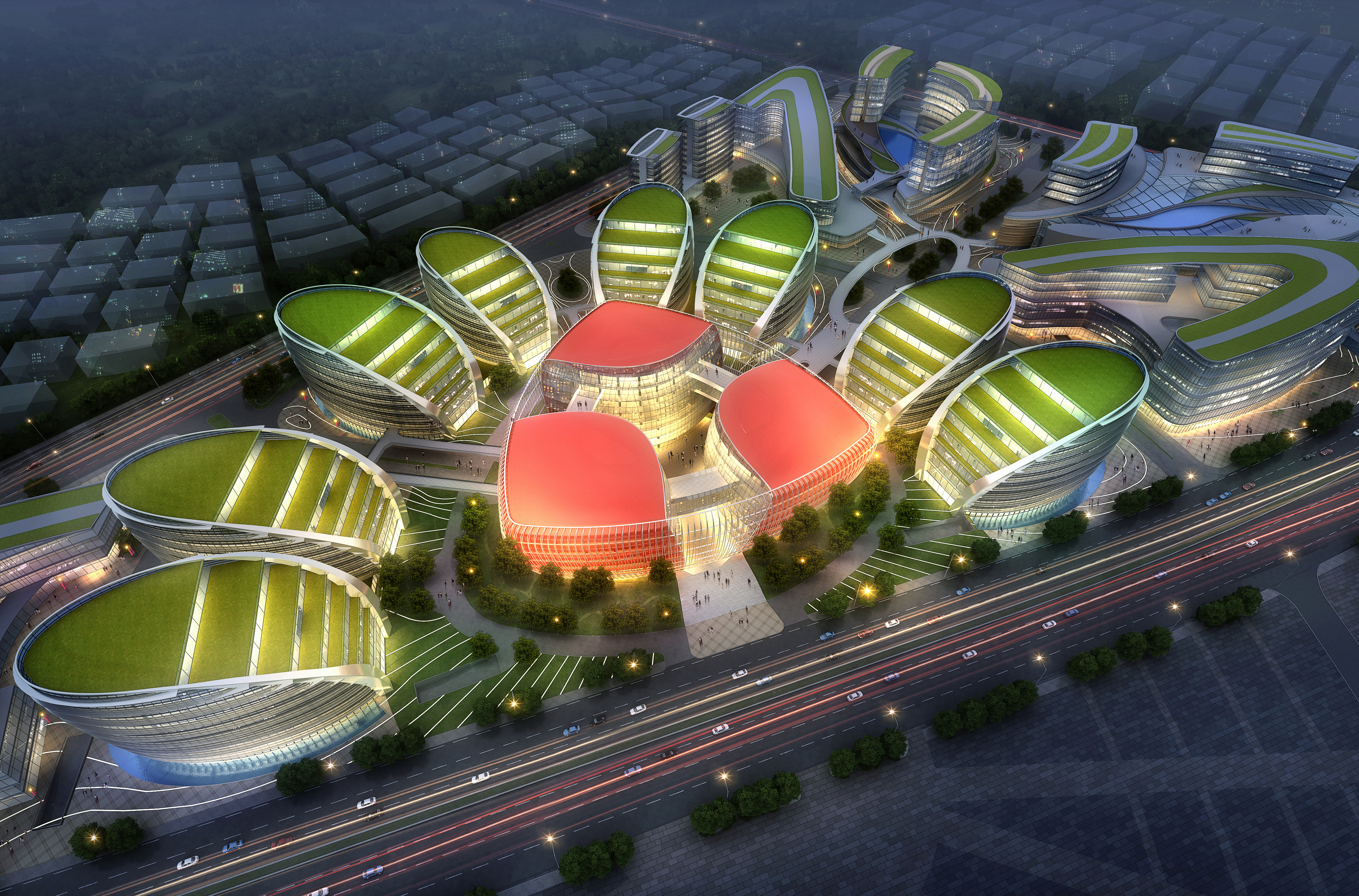 international convention and exhibition 001 3d model max 204027