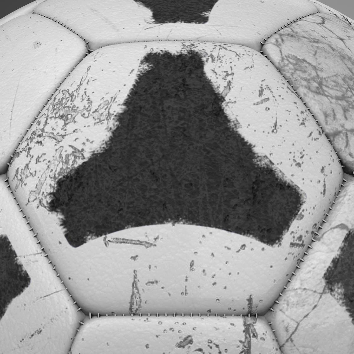 soccerball хар цагаан tri 3d загвар 3ds max fbx c4d ma mb obj 204055