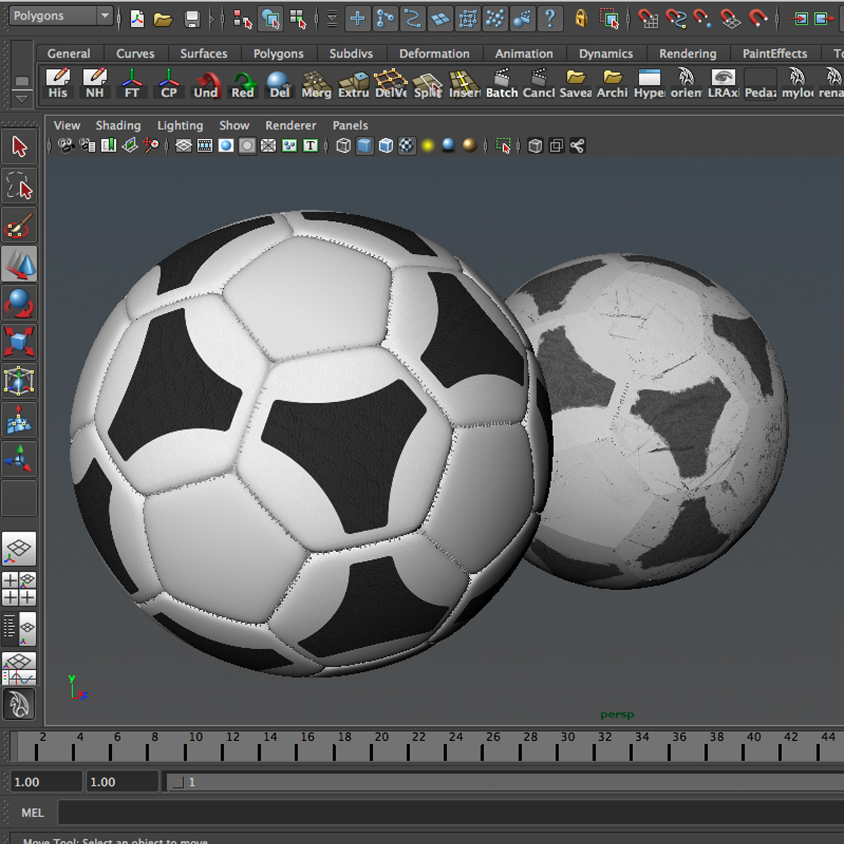soccerball хар цагаан tri 3d загвар 3ds max fbx c4d ma mb obj 204056