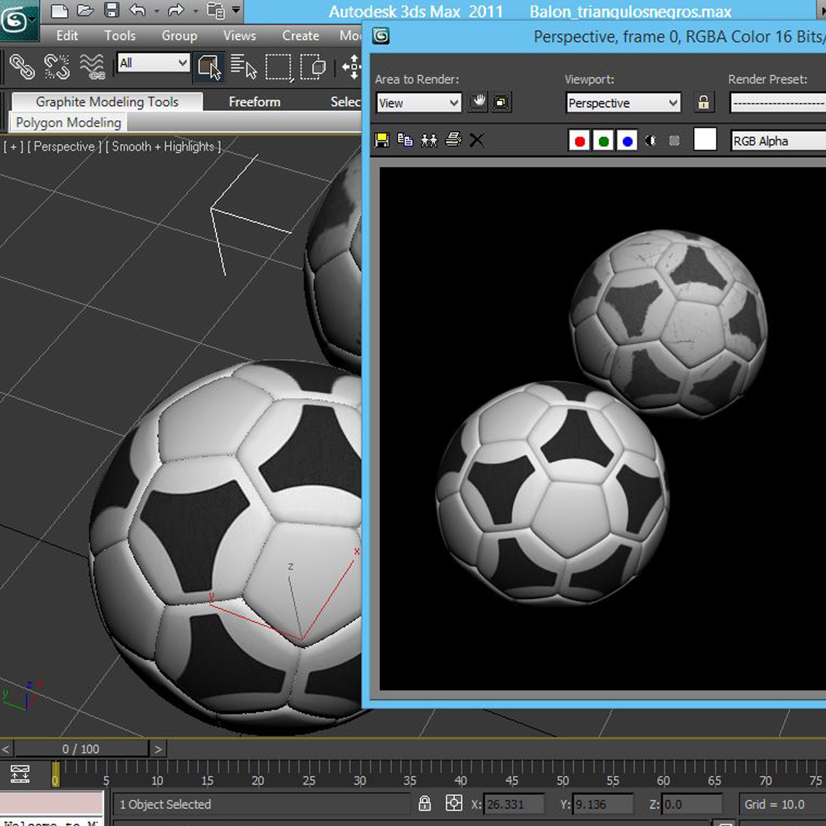 soccerball хар цагаан tri 3d загвар 3ds max fbx c4d ma mb obj 204058