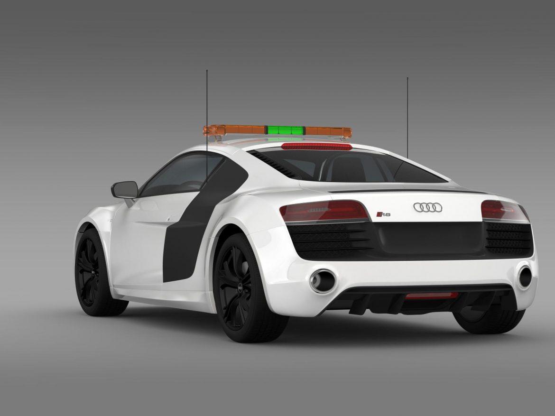 audi r8 v10plus safety car 3d model 3ds max fbx c4d lwo ma mb hrc xsi obj 204083