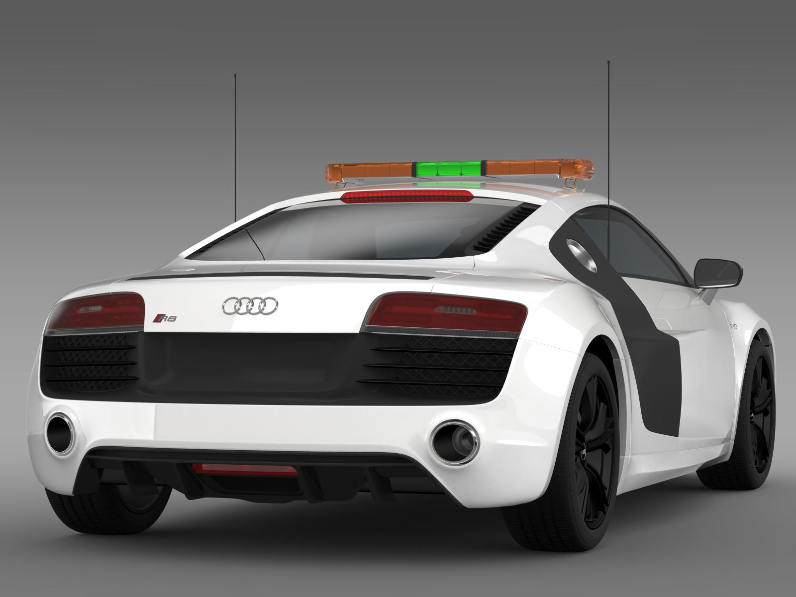 Audi R Vplus Safety Car D Model Vehicles D Models Audi Ds - Audi car 3d