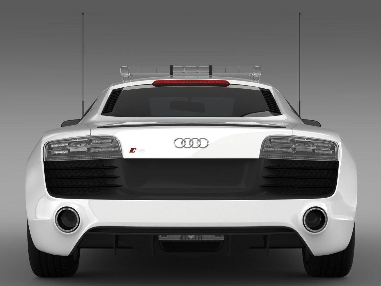 audi r8 v10plus safety car 3d model 3ds max fbx c4d lwo ma mb hrc xsi obj 204088