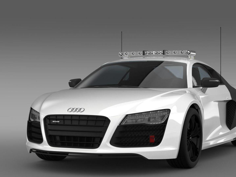 audi r8 v10plus safety car 3d model 3ds max fbx c4d lwo ma mb hrc xsi obj 204089