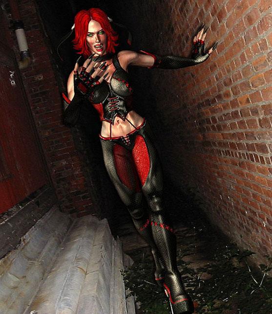Vampire slayer kona reist 3d líkan lwo 204097