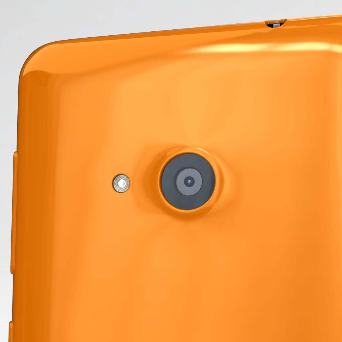 microsoft lumia 535 and dual sim orange 3d model 3ds max fbx c4d obj 204117