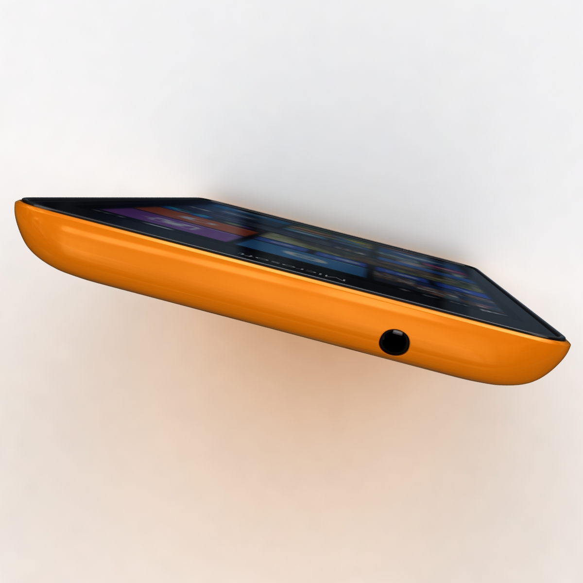 microsoft lumia 535 and dual sim orange 3d model 3ds max fbx c4d obj 204122