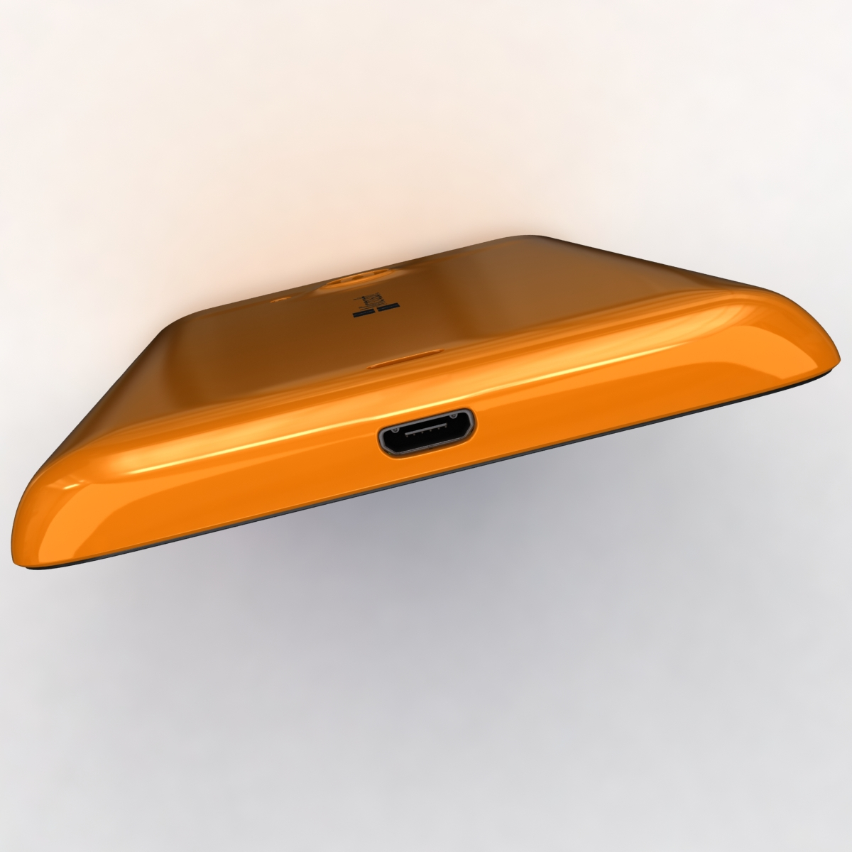 microsoft lumia 535 and dual sim orange 3d model 3ds max fbx c4d obj 204123