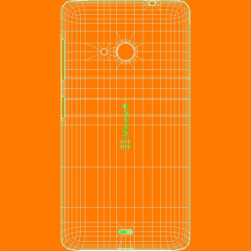 microsoft lumia 535 and dual sim orange 3d model 3ds max fbx c4d obj 204125