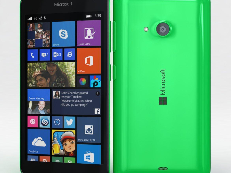 Microsoft Lumia 535 and Dual SIM Green ( 576.21KB jpg by NoNgon )