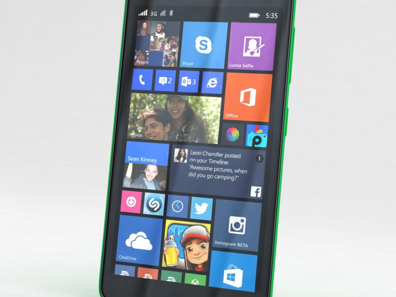 Microsoft Lumia 535 and Dual SIM Green ( 555.67KB jpg by NoNgon )