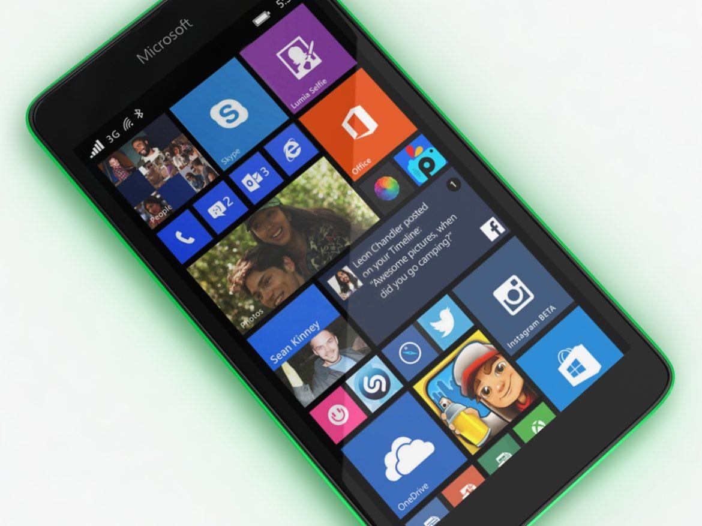 Microsoft Lumia 535 and Dual SIM Green ( 641.94KB jpg by NoNgon )