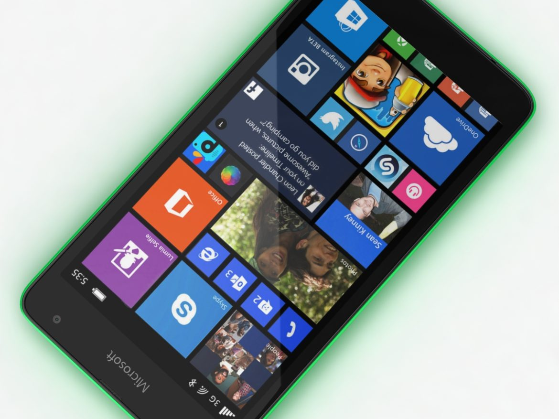 Microsoft Lumia 535 and Dual SIM Green ( 637.54KB jpg by NoNgon )