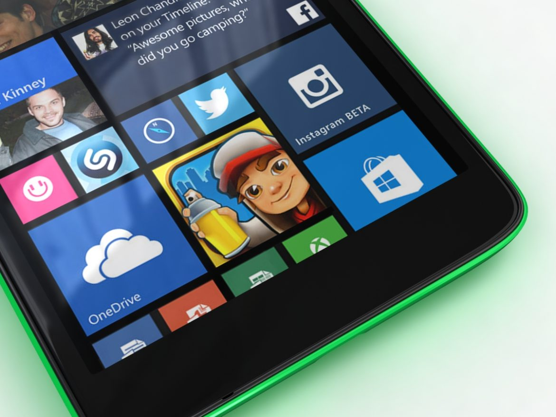 Microsoft Lumia 535 and Dual SIM Green ( 668.11KB jpg by NoNgon )