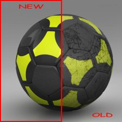 Soccerball black yellow ( 436.35KB jpg by mikebibby )