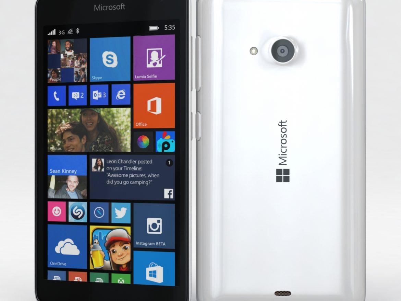 Microsoft Lumia 535 and Dual SIM White ( 547.48KB jpg by NoNgon )