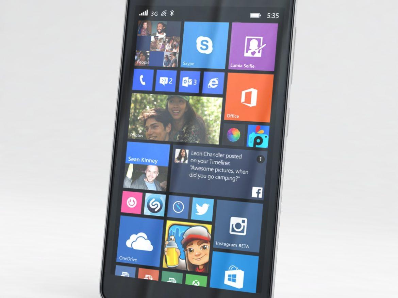 Microsoft Lumia 535 and Dual SIM White ( 538.77KB jpg by NoNgon )