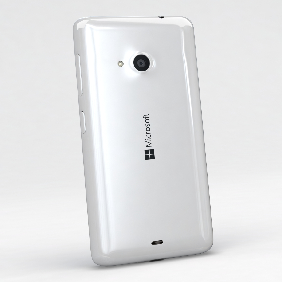 microsoft lumia 535 and dual sim white 3d model 3ds max fbx c4d obj 204283