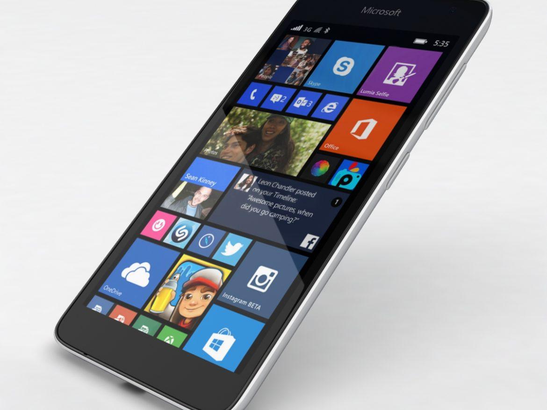Microsoft Lumia 535 and Dual SIM White ( 533.66KB jpg by NoNgon )