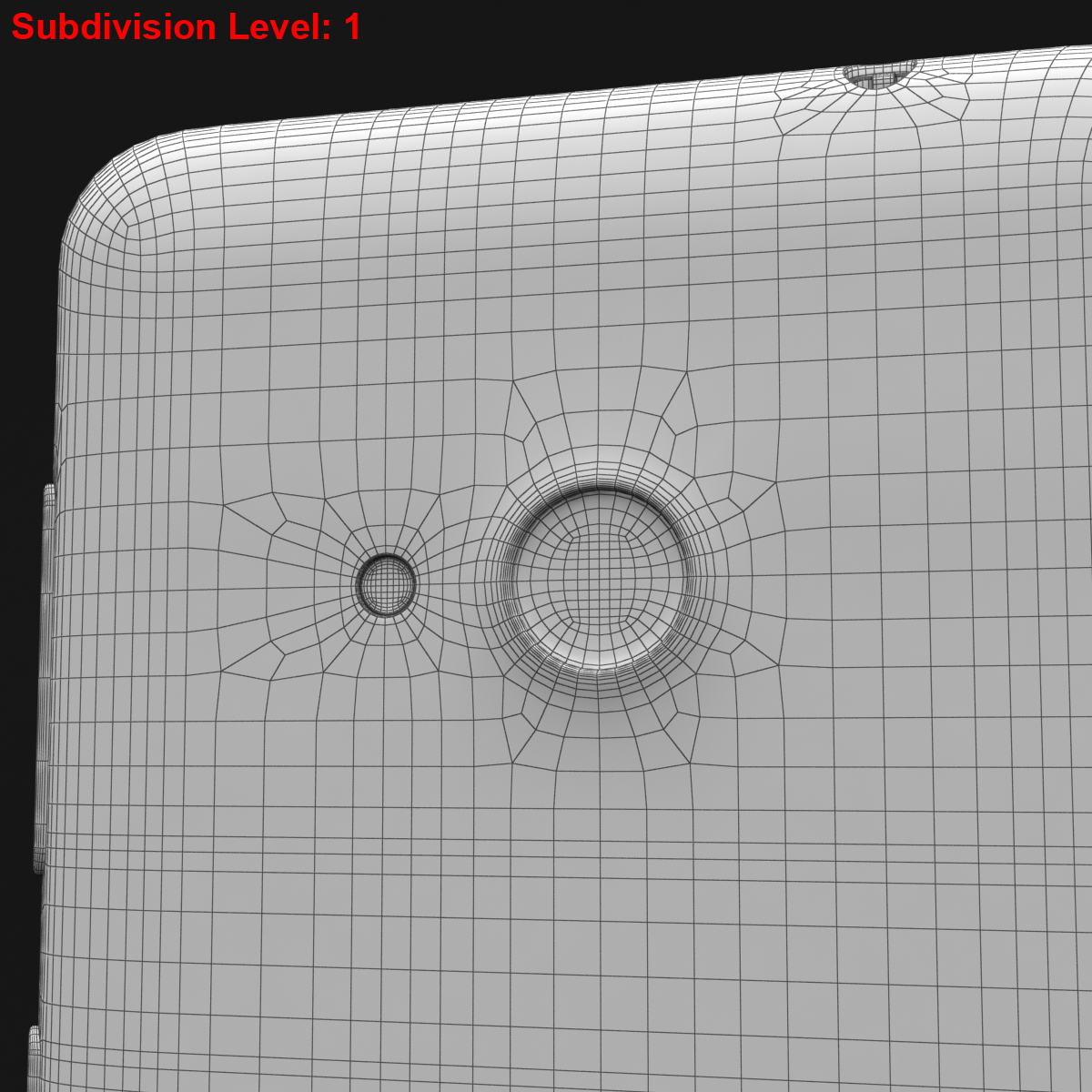 microsoft lumia 535 and dual sim white 3d model 3ds max fbx c4d obj 204299