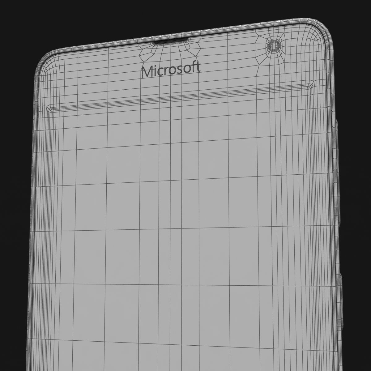 microsoft lumia 535 and dual sim white 3d model 3ds max fbx c4d obj 204301