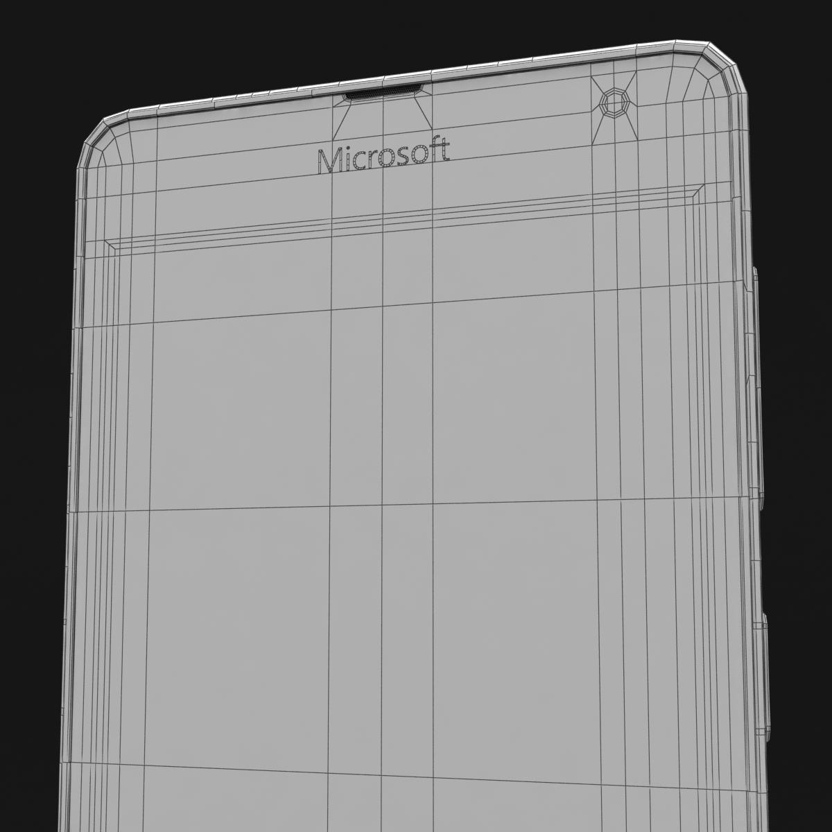microsoft lumia 535 and dual sim white 3d model 3ds max fbx c4d obj 204302