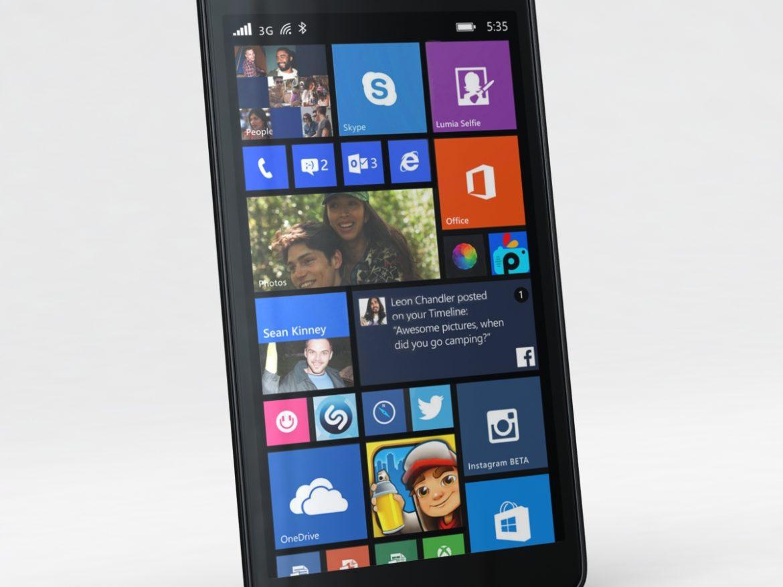 Microsoft Lumia 535 and Dual SIM Black ( 535.19KB jpg by NoNgon )