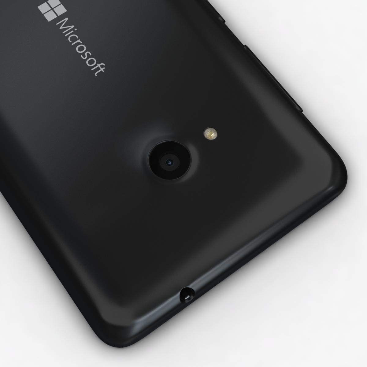 microsoft lumia 535 and dual sim black 3d model 3ds max fbx c4d obj 204357