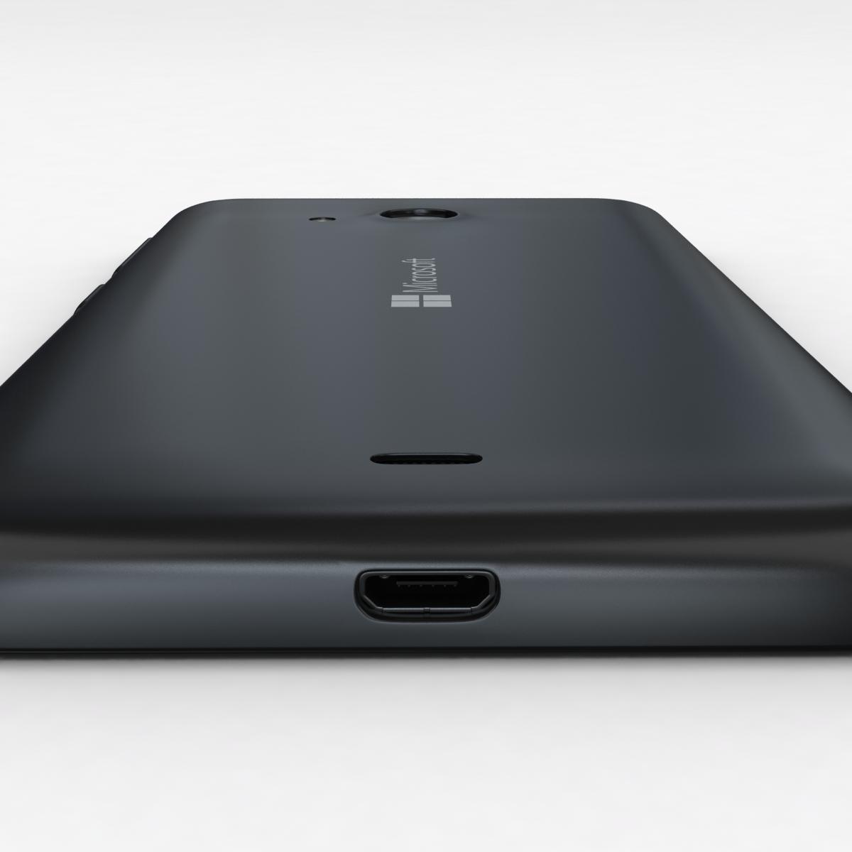 microsoft lumia 535 and dual sim black 3d model 3ds max fbx c4d obj 204358