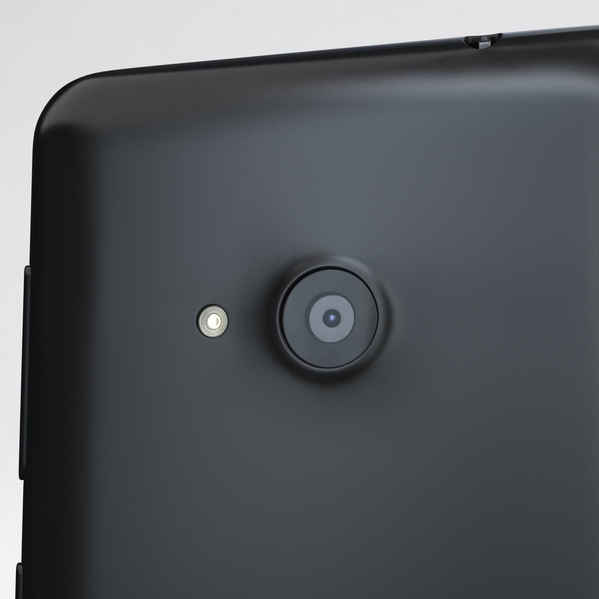 microsoft lumia 535 and dual sim black 3d model 3ds max fbx c4d obj 204359