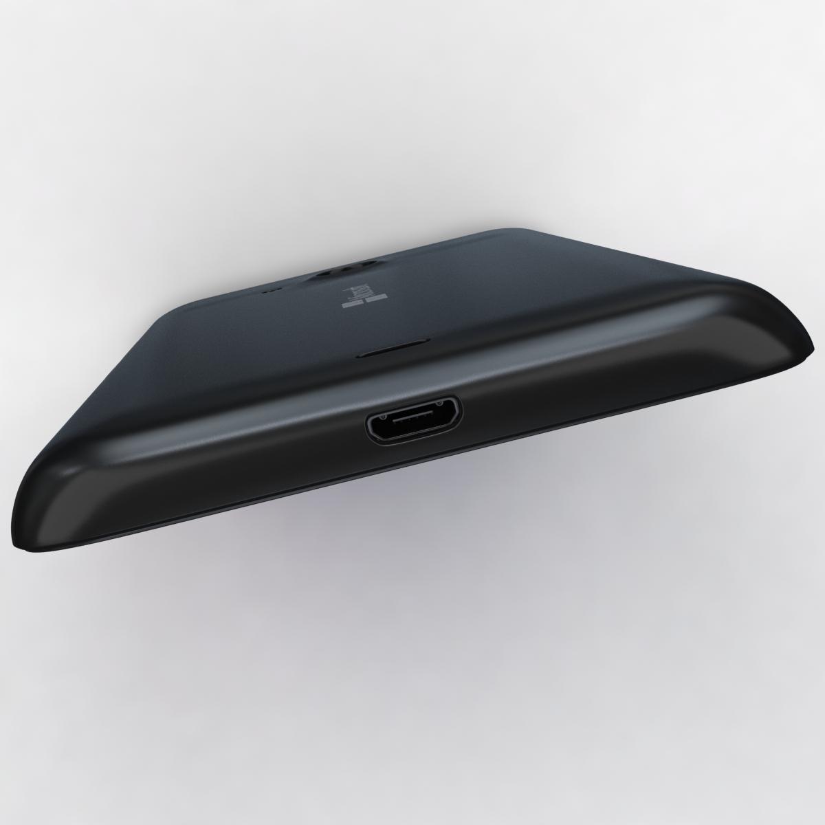 microsoft lumia 535 and dual sim black 3d model 3ds max fbx c4d obj 204364