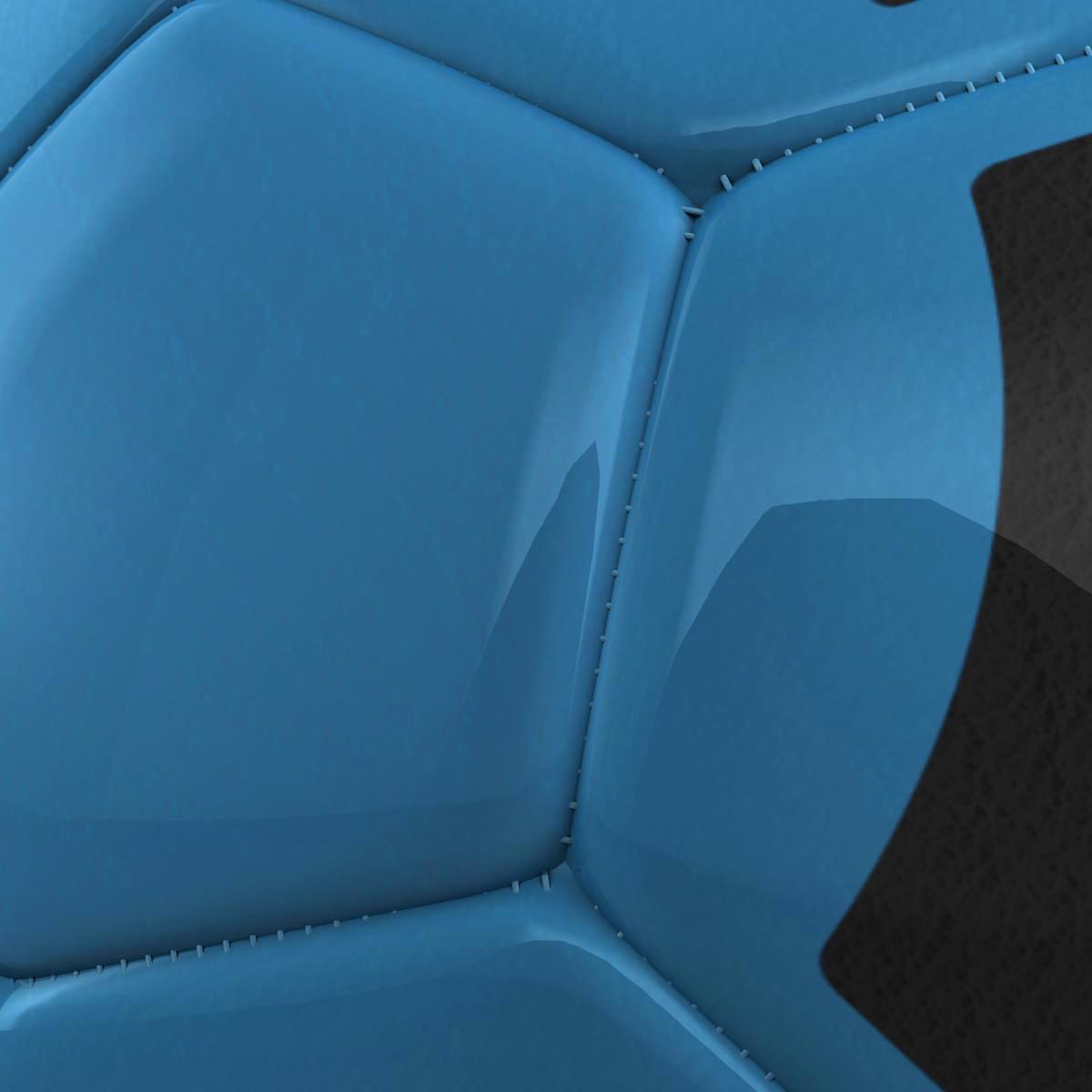 soccerball цэнхэр хар 3d загвар 3ds max fbx c4d ma mb obj 204380