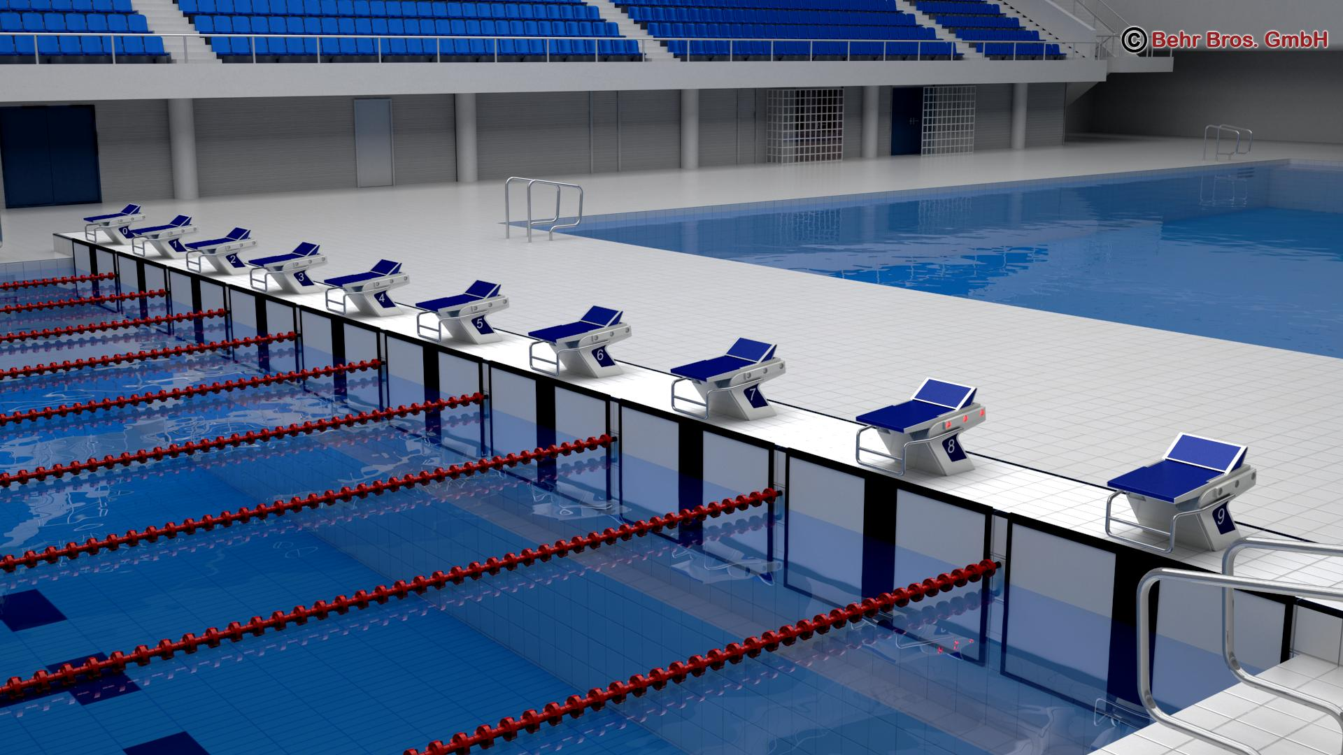 swim stadium 3d model 3ds max fbx c4d lwo ma mb obj 204432