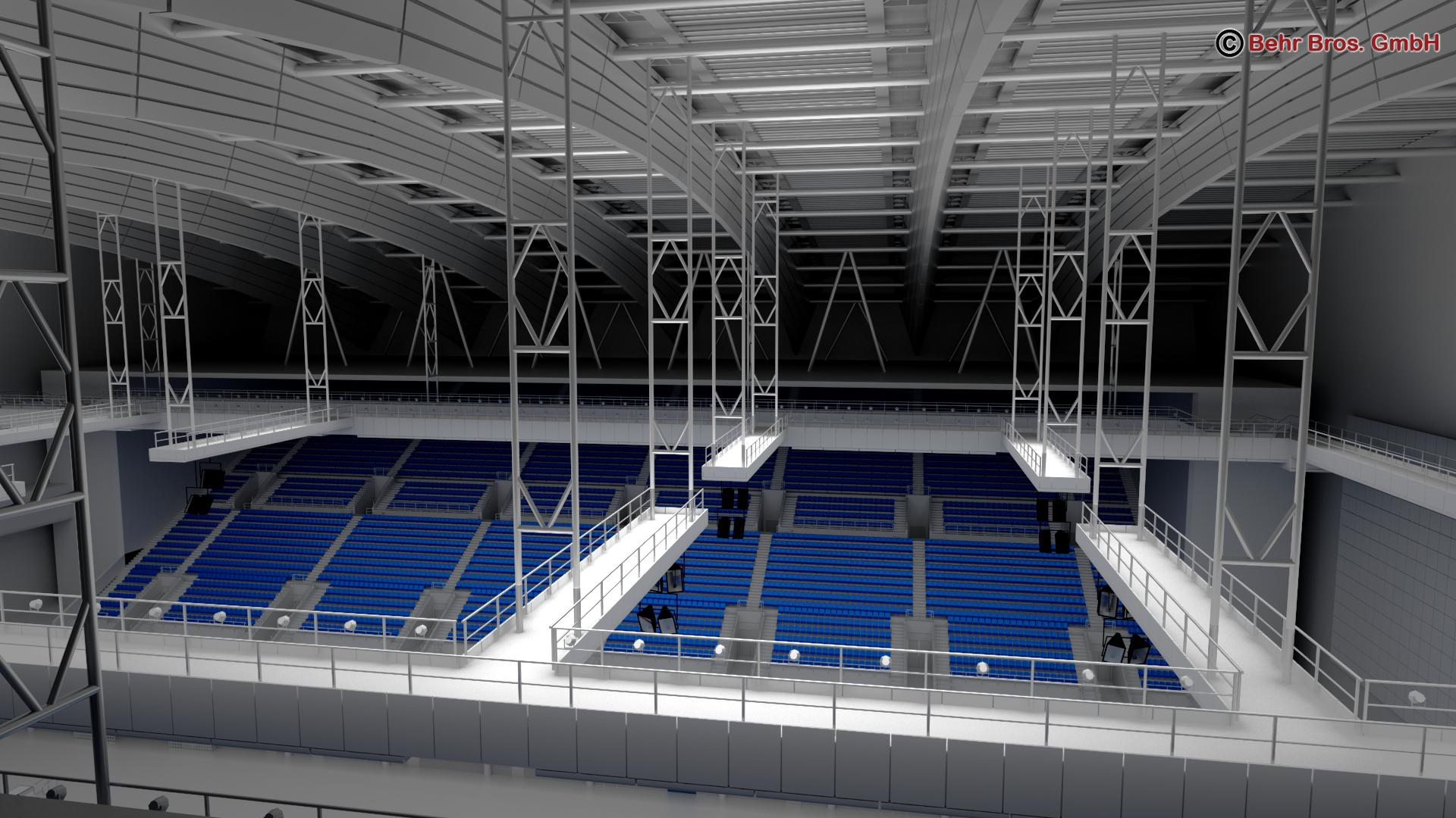 swim stadium 3d model 3ds max fbx c4d lwo ma mb obj 204437