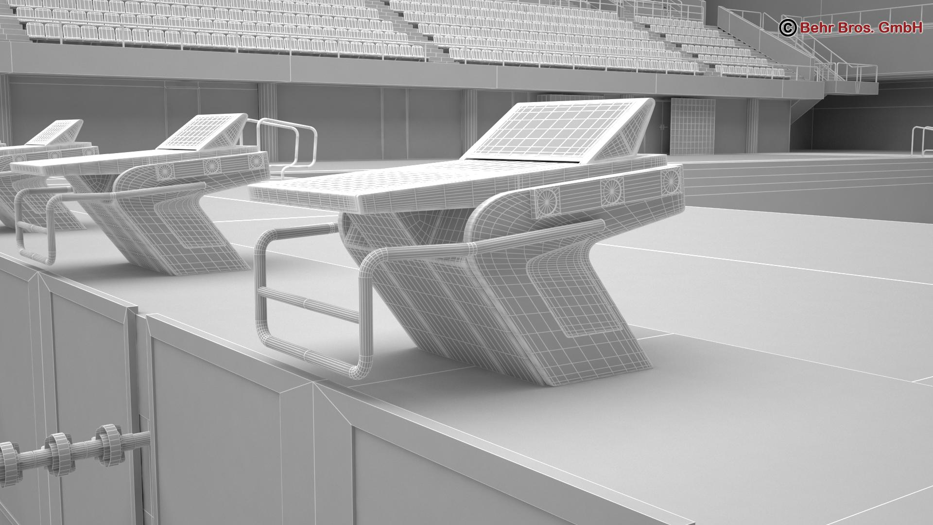 swim stadium 3d model 3ds max fbx c4d lwo ma mb obj 204441