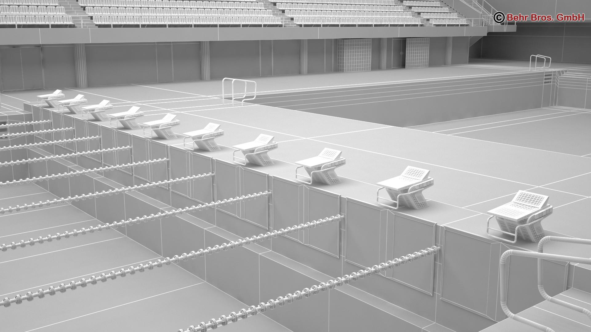 swim stadium 3d model 3ds max fbx c4d lwo ma mb obj 204442