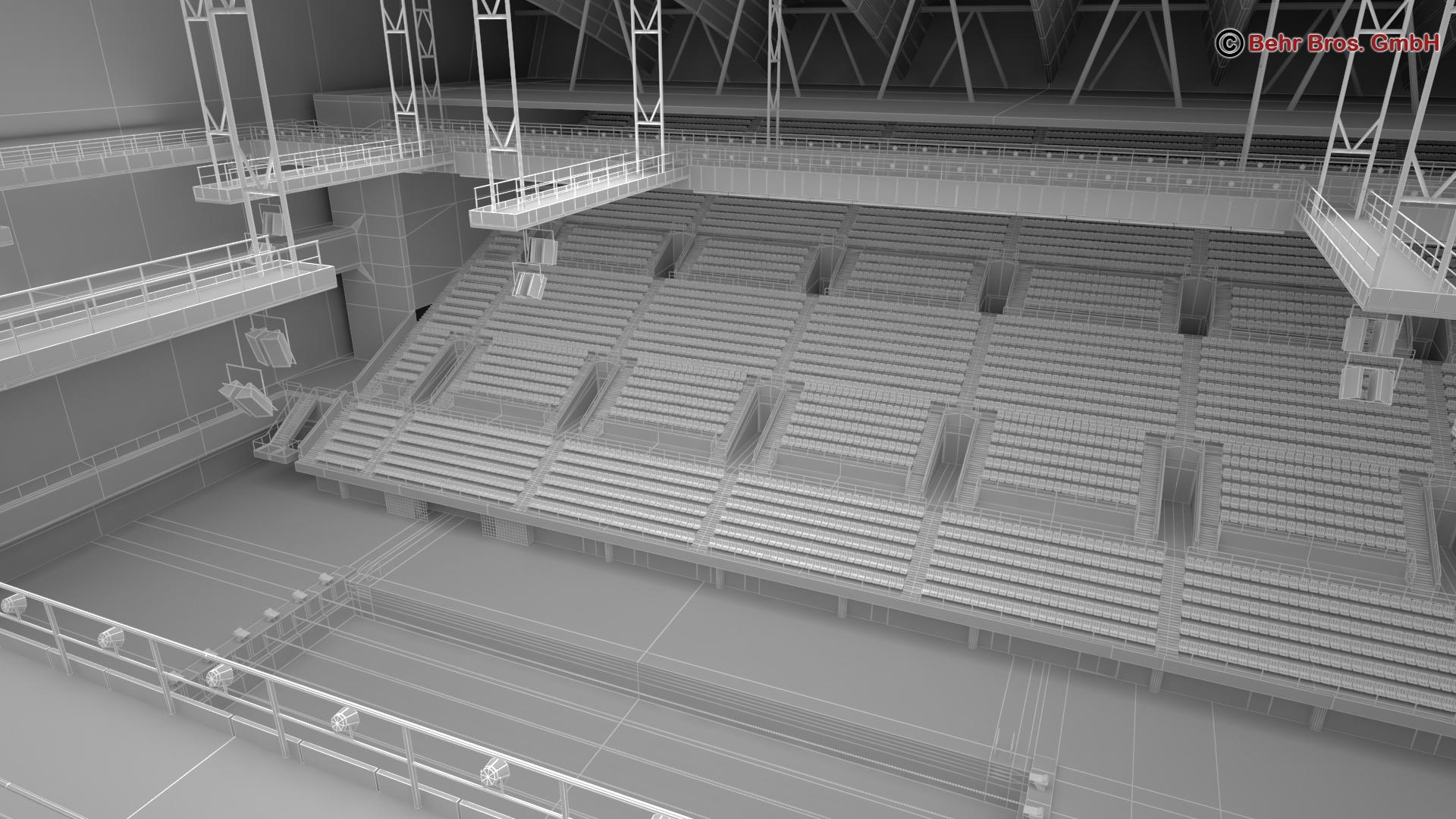 swim stadium 3d model 3ds max fbx c4d lwo ma mb obj 204448