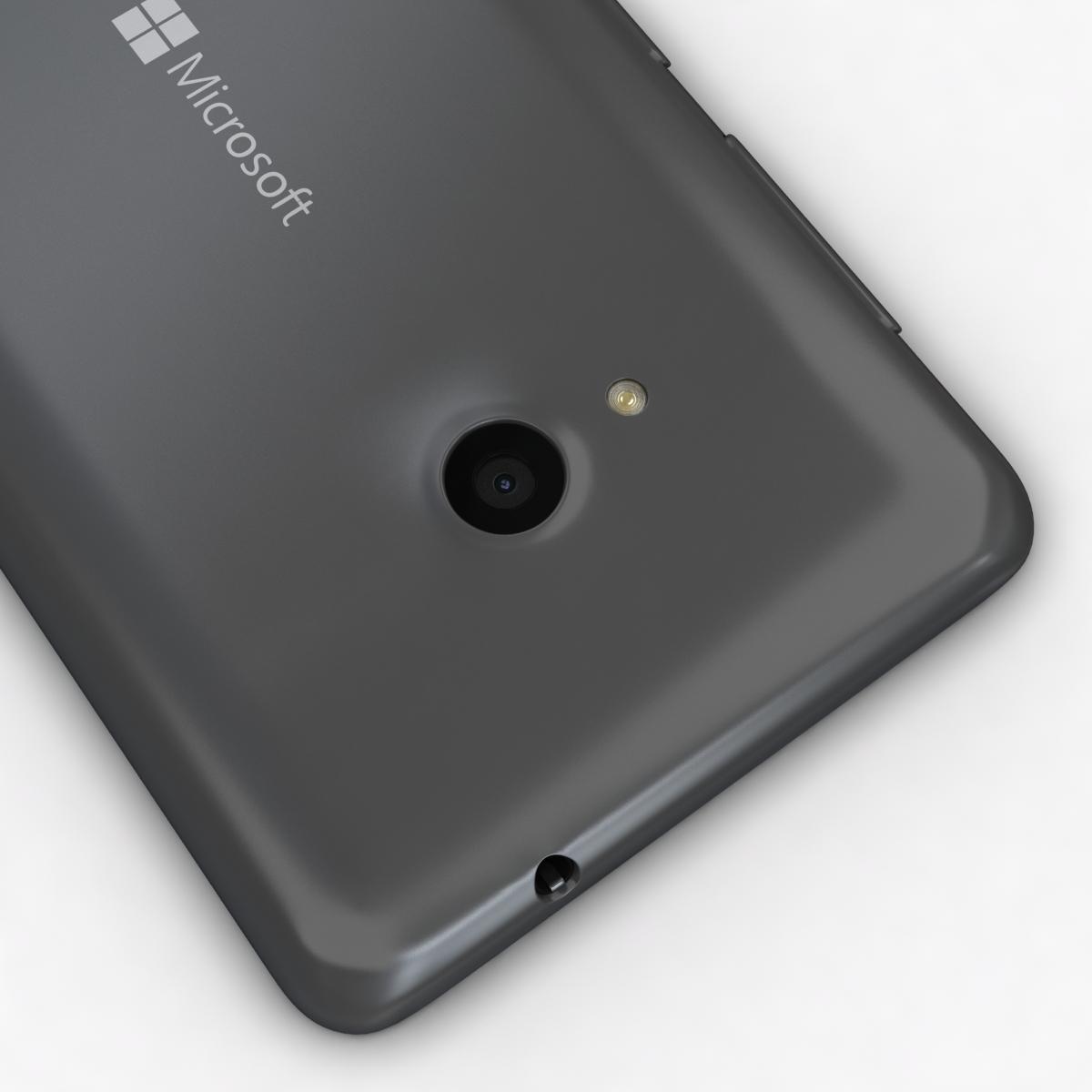 microsoft lumia 535 and dual sim gray 3d model 3ds max fbx c4d obj 204469
