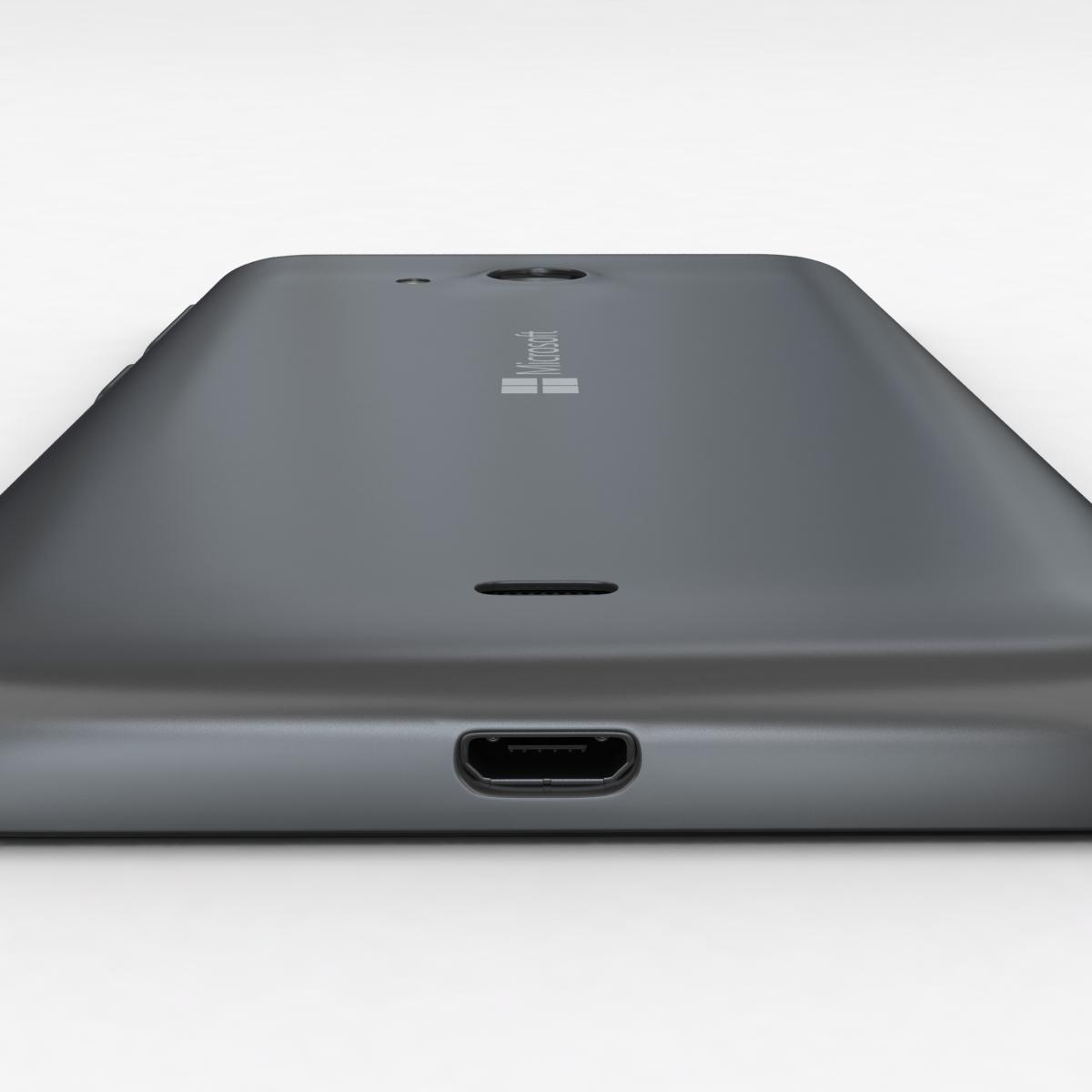 microsoft lumia 535 and dual sim gray 3d model 3ds max fbx c4d obj 204470